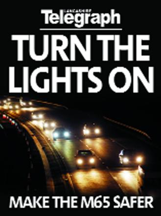Coroner writes to agency on M65 lights