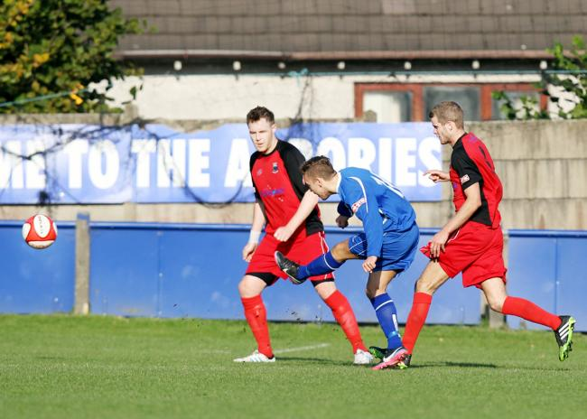 Kieron Pickup was on target for Padiham