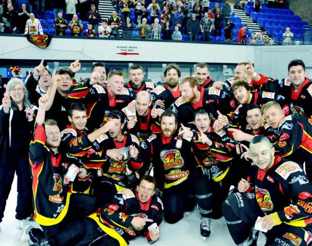 Blackburn Hawks are hoping to celebrate