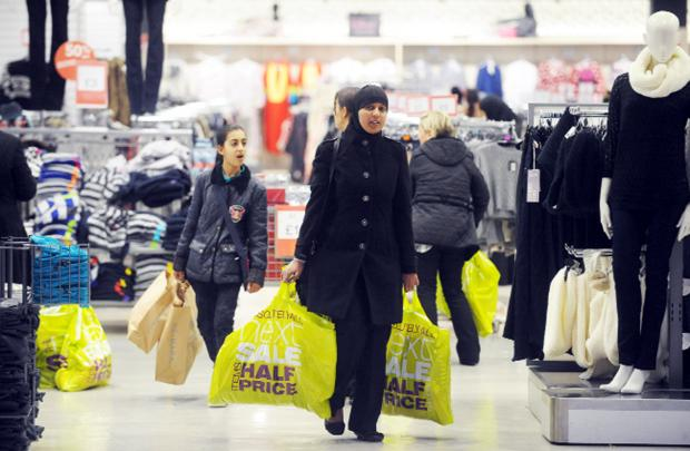 Lancashire Telegraph: Sales drew shoppers in at The Mall, Blackburn