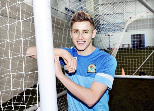 Tom Cairney after joining Rovers on a permanent basis