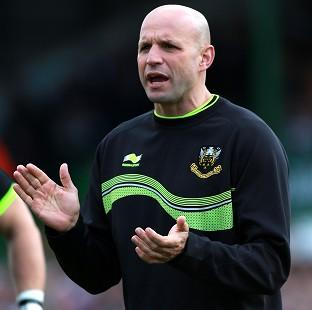 Jim Mallinder, pictured, says it was 'fantastic' to see George North score a try against Quins