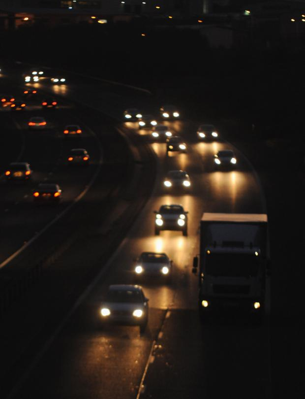 Lancashire Telegraph: Fury as council set to plunge more of M65 into darkness