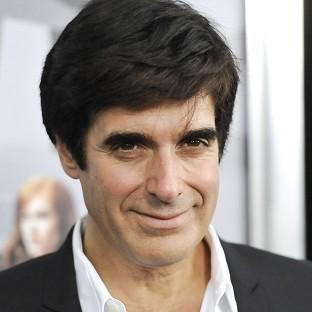 David Copperfield recently got engaged to French model and designer Chloe Gosselin (Hello!/PA)