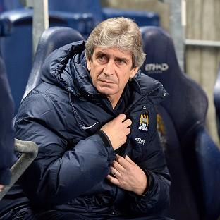 Manuel Pellegrini watched his side demolish West Ham