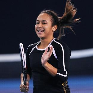 Heather Watson was one of only six British players to make it through qualifying