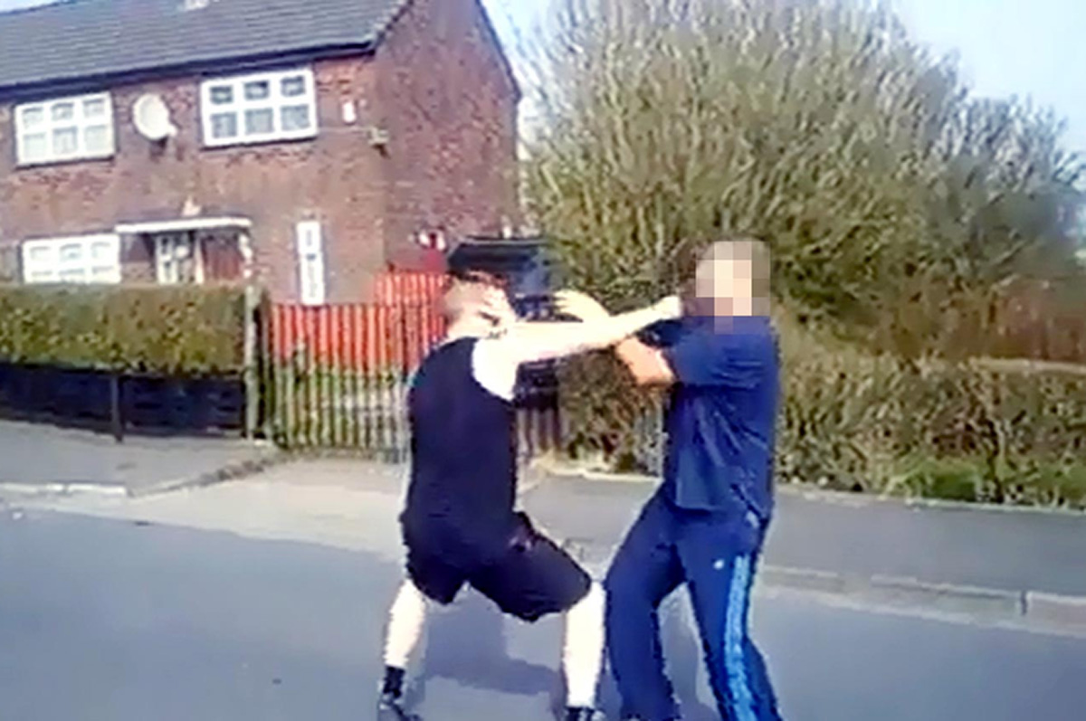 Videos of bare knuckle brawling on streets of Blackburn slammed
