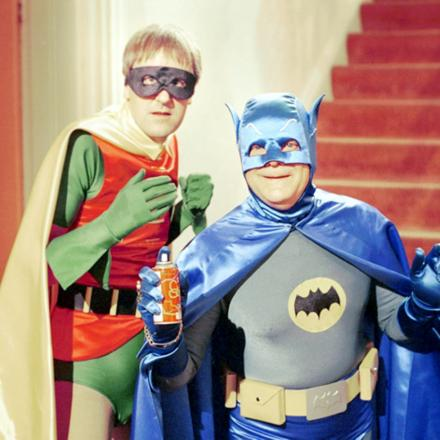 Del Boy and Rodney play Batman and Robin