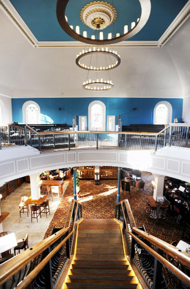 Lancashire Telegraph: Inside the new JD Wetherspoon pub, The Old Chapel in Darwen