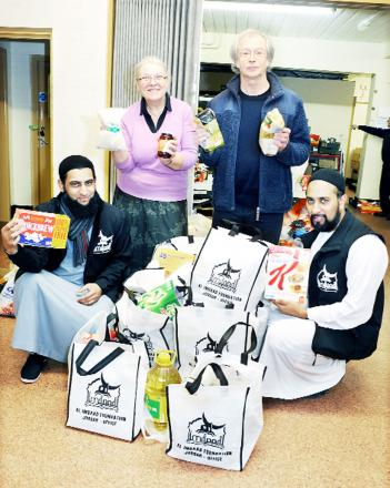 East Lancs charity has previously collected for local foodbanks