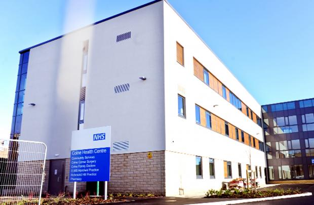 Colne Health Centre is due to be com