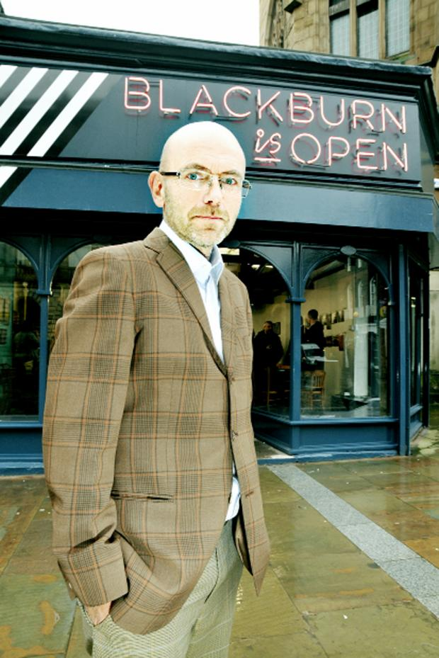 Lancashire Telegraph: Wayne Hemingway, above, is passionate about Blackburn is Open