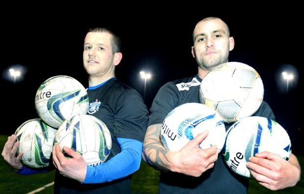 Lancashire Telegraph: Peter Wright and Robert Grimes have been in the goals for Nelson