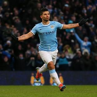Sergio Aguero scored a hat-trick as Manchester City came back from 2-0 down to beat Watford