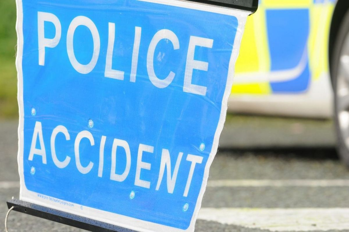 Accident closes Bacup road