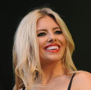Mollie King is still friendly with her former flames