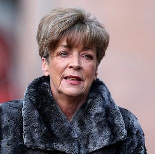 Coronation Street actress Anne Kirkbride arrives at Preston Crown Court