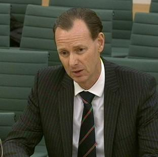 Lawrence Tomlinson gives evidence in front of the Treasury Select Committee