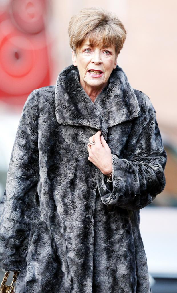 Lancashire Telegraph: Ms Kirkbride, a stalwart of the ITV soap as Deirdre Barlow