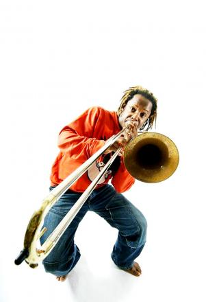 Virtuoso trombonist Dennis Rollins is one of the stars set to appear at the Ribble Valley Jazz Festival