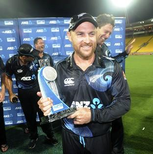 Brendon McCullum's side secured an 87-run win in Wellington (AP)