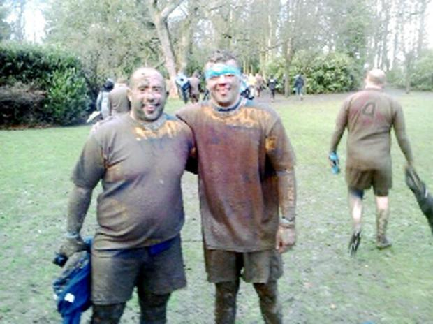 Burnley mud brothers Nino and captain Luca Angelone