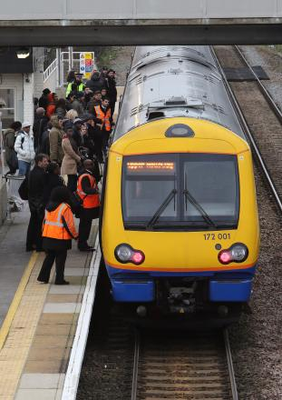 Train travellers across country face major delays