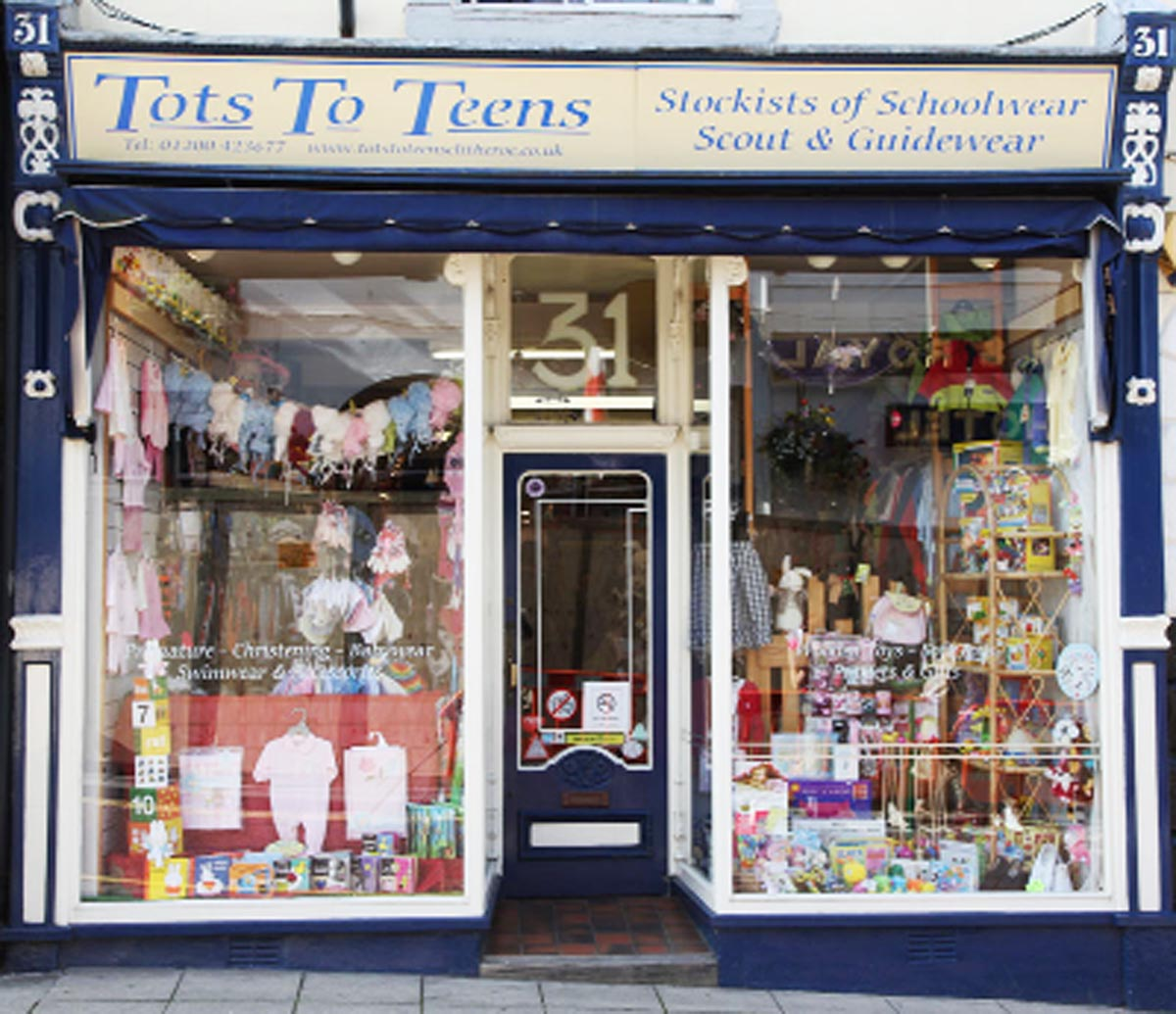 Tots To Teens is set to close after Linda Nixon said the town centre is no longer bustling