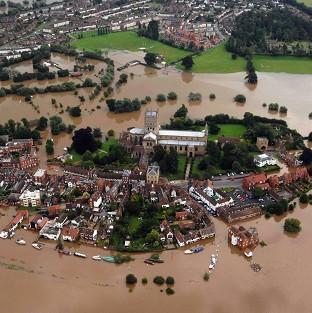 Met Office's chief scientist Dame Julia Slingo delivered a grim warning that the country should prepare itself for more flooding