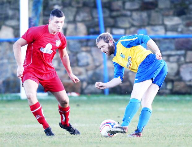 Stewart Airdrie's men were beaten