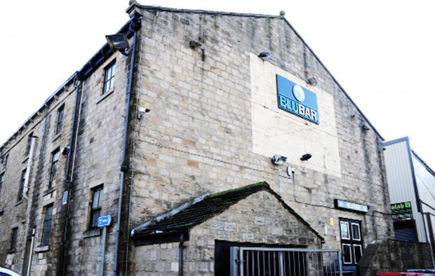 Lancashire Telegraph: The Blu Bar, Burnley, is at the centre of a row of public order
