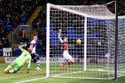 Sam Vokes scores the winner