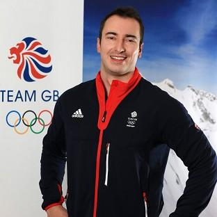 John Baines, pictured, has stepped in to fill Craig Pickering's place in the two-man bobsleigh