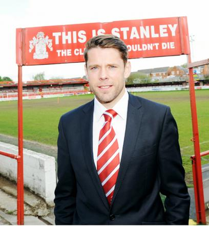 James Beattie says Stanley's players were not paid before last weekend's defeat at Northampton