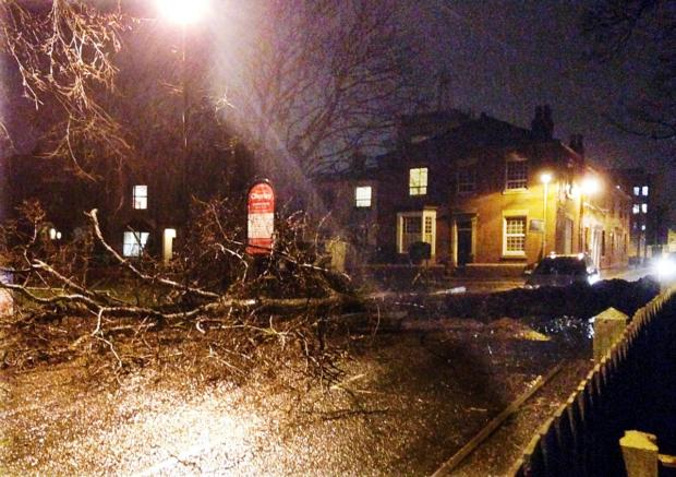 Lancashire Telegraph: Hundreds without power after East Lancashire hit by 70mph gales