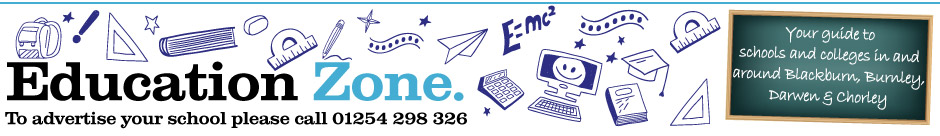 Lancashire Telegraph: Education Zone Header LET