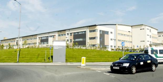 Director is patient at Royal Blackburn Hospital