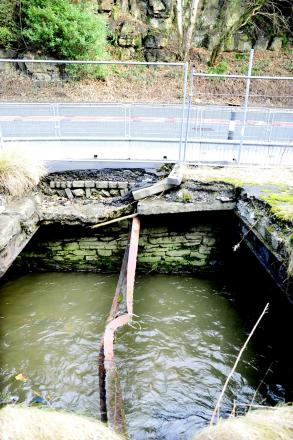 'Dangerous' 112-year-old holes in Waterfoot to be repaired