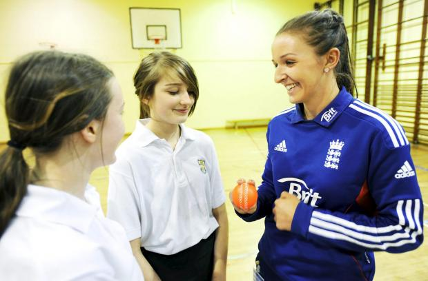 England and Lancashire star Kate Cross works hard off the field to develop women's cricket