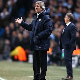 Manuel Pellegrini made explosive comments after Manchester City's defeat