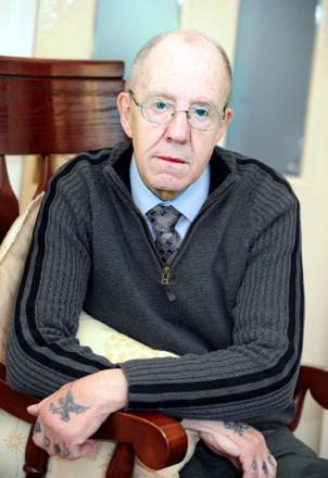 Peter Connearn is upset about the treatment he received at the Royal Blackburn Hospital