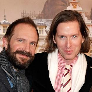 Ralph Fiennes stars in Wes Anderson's The Grand Budapest Hotel