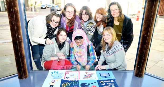 'Girl Geeks' show their work