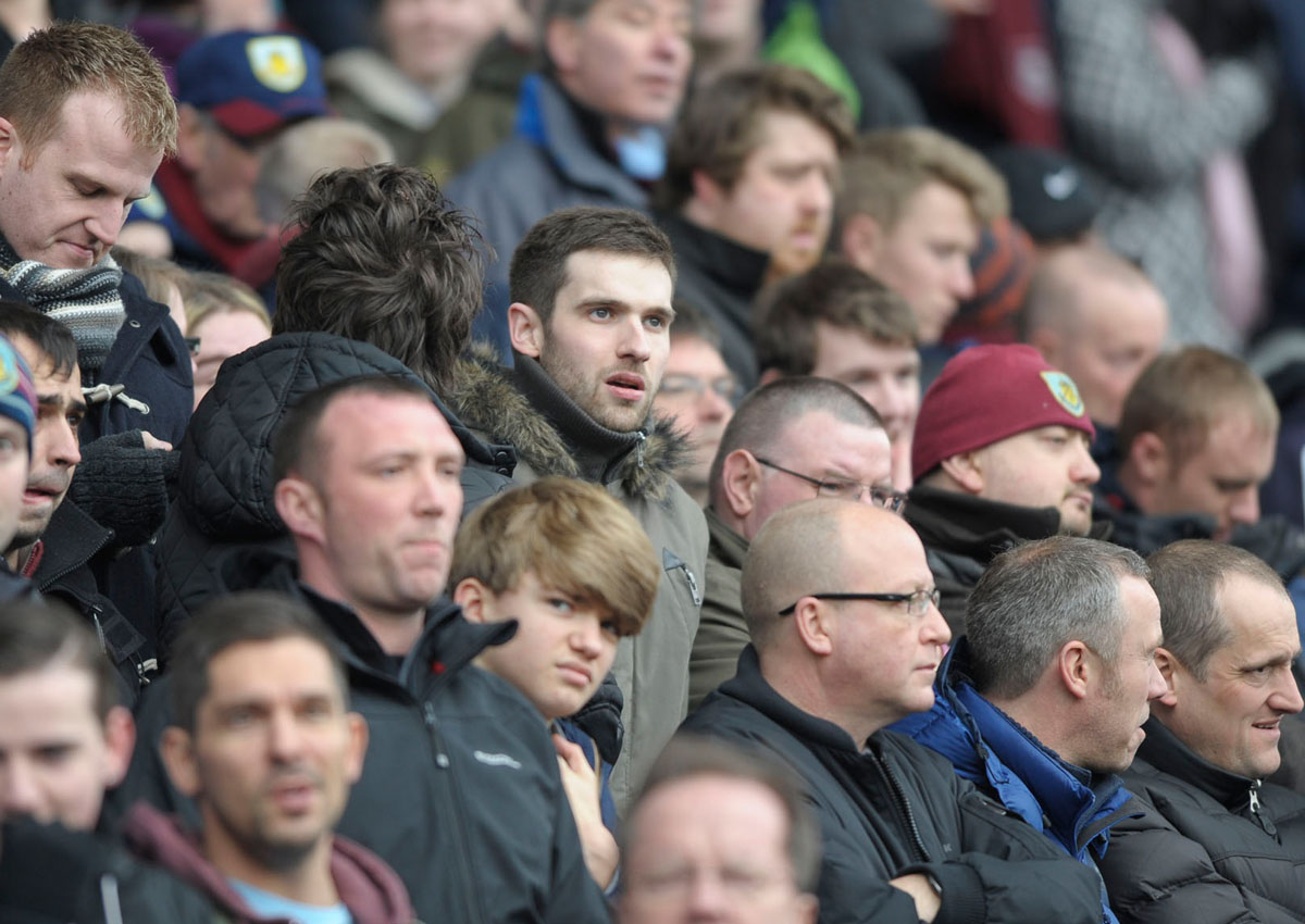 Burnley v Reading...Face in the crowd