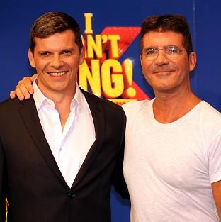 Nigel Harman spoofs Simon Cowell in the X Factor musical I Can't Sing!