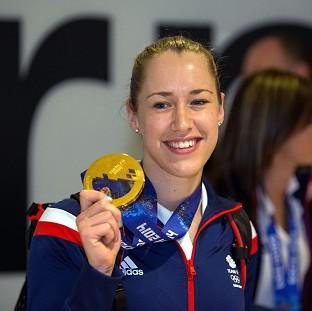 Lizzy Yarnold has not intention of switching sports