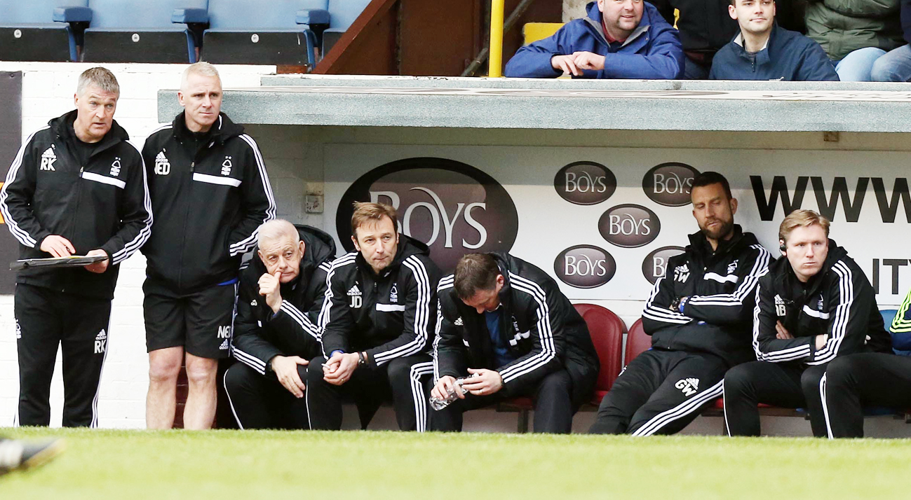 Billy Davies was made to suffer in the Turf Moor dugout