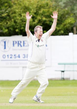 Keith Roscoe needs one more five-wicket haul for a Rawtenstall career century