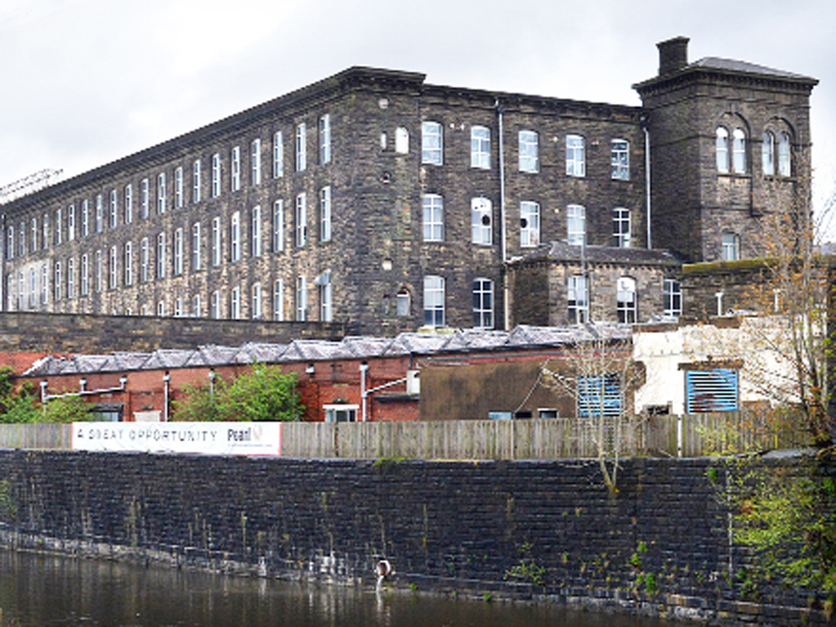 REGENERATION: The site is near Brierfield Mills