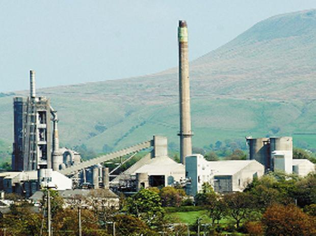 Ribblesdale Cement at Clitheroe